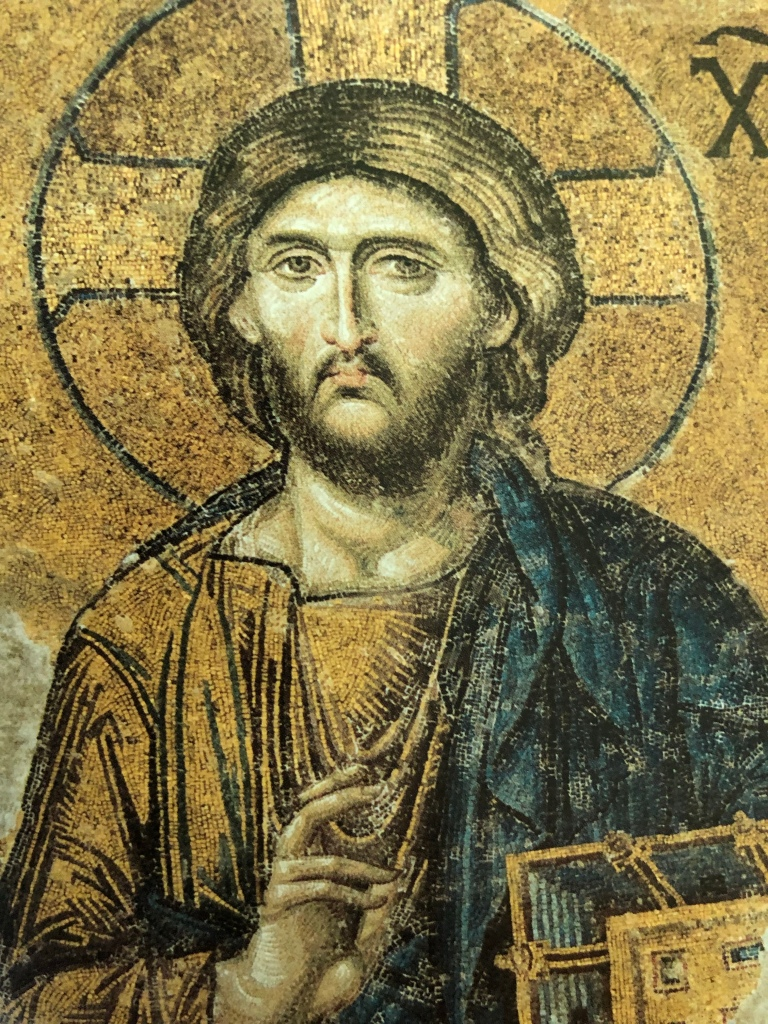 Photo of an Icon of Jesus Christ